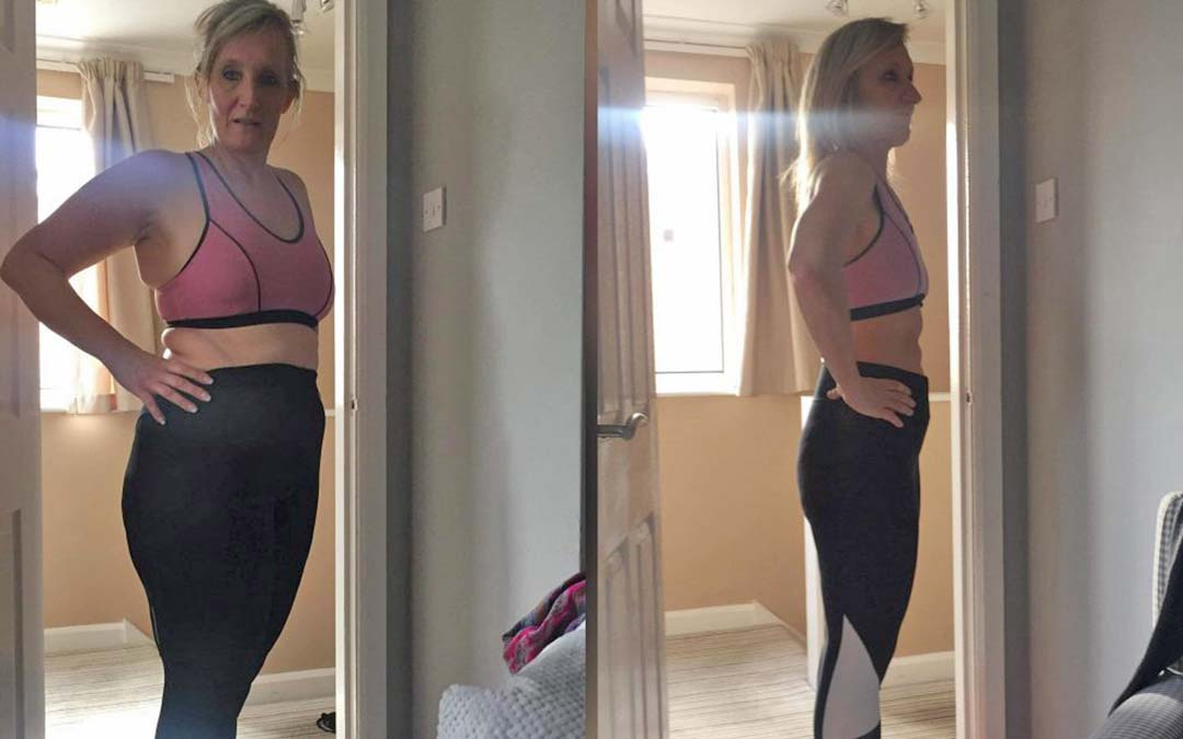 Trudy lost weight on the Health Transformer's programme